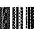 tyre tread vector image vector image