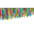 abstract 3d background multi-colored vector image