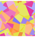 Abstract polygonal yellow and pink seamless