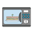 electric oven appliance vector image vector image
