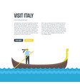 gondola drawing vector image
