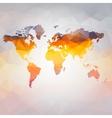 modern concept world map vector image