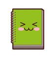 note book kawaii character vector image vector image