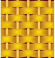 Wicker basket texture vector image