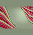 abstract wavy background with line texture vector image