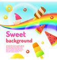 background for a children store and creativity vector image vector image