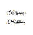 christmas typographic premium vector image