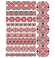 Ethnic vintage patterns and ornaments vector image vector image