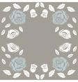 Greeting card roses wedding birthday holiday vector image vector image