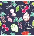 Juicy berries seamless pattern vector image vector image