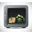 Bank and money savings vector image vector image