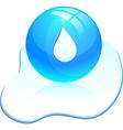 Drop icon vector image
