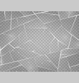 realistic cracked ice surface frozen glass with vector image