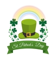 Saint patrick day celebration vector image