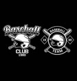 baseball club team badge logo emblem template