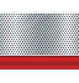 brushed metal copyspace vector image vector image