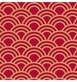 Seamless wave japanese pattern vector image vector image