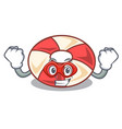super hero swim tube character cartoon vector image