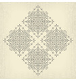 vintage tribal background vector image vector image