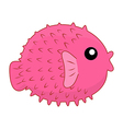 puffer vector image