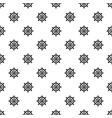 handwheel pattern seamless vector image vector image