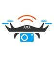 Photo Spy Drone Icon vector image