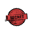 Secret stamp badges vector image vector image