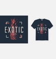 stylish t-shirt and apparel modern design vector image