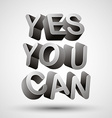 Yes you can vector image