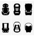 Baby car seats vector image vector image
