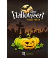 Halloween Poster 3 vector image vector image