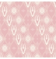 Seamless floral pattern in japanese style vector image
