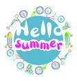 summer sport vector image