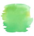 green color watercolor hand drawn gradient banner vector image vector image