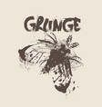 grunge texture background banner with copy space vector image vector image