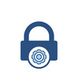 lock password private properties secure icon vector image
