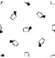 medical bag pattern seamless black vector image vector image