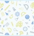 school pattern back to school vector image
