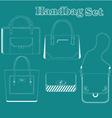 women handbags vector image