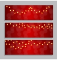 Abstract Beauty Glowing Light Background vector image