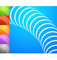 abstract background set square format backgrounds vector image vector image