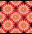 floral 3d seamless pattern vector image vector image