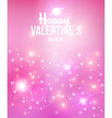 Happy Valentines day abstract background vector image vector image