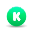Kickstarter icon simple style vector image vector image