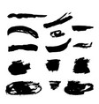 set of hand drawn design elements vector image vector image