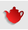 Tea maker sign vector image vector image