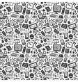 technology seamless pattern vector image vector image