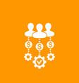 venture capital investors icon vector image vector image