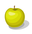 yellow apple vector image vector image