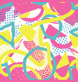 abstract seamless pattern blots dots geometric vector image